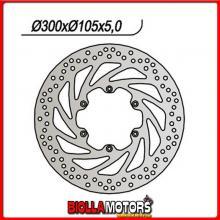 659324 DISCO FRENO ANTERIORE NG BMW F / ST strada / Funduro (E169) 650CC 1993/2000 324