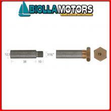 5127048 ANODO BARROTTO Barrotti Motore Caterpillar (12,5x38mm)