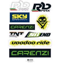 500001C FOGLIO ADESIVI RB MAX / CARENZI / NOEND 210 X 300 MM