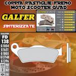 FD138G1370 PASTIGLIE FRENO GALFER SINTERIZZATE POSTERIORI VECTRIX VECTRIX ELECTRIC 3W 07-