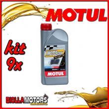 KIT 9X LITRO MOTUL LIQUIDO RADIATORE MOTOCOOL FACTORY LINE 1L - 9x 105920