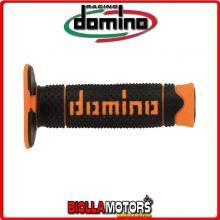 A26041C4540A7-0 COPPIA MANOPOLE NERO/ARANCIO DSH OFF ROAD DOMINO KTM 125 EXC FACTORY EDITION 125CC 15 78102021000