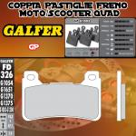 FD326G1003 PASTIGLIE FRENO GALFER GP ANTERIORI HONDA CBR 1000 RR FIREBLADE C-ABS 09-