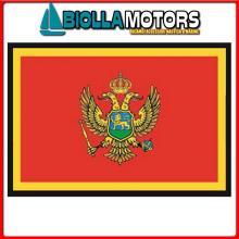 3402830 BANDIERA MONTENEGRO 30X45CM Bandiera Montenegro