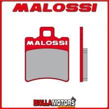6215007BR COPPIA PASTIGLIE FRENO MALOSSI Anteriori MBK BOOSTER 50 2T euro 2 (A137E) MHR Anteriori