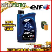 KIT TAGLIANDO 2LT OLIO ELF MAXI CITY 5W40 KTM 250 EXC-F 250CC 2008-2011 + FILTRO OLIO HF655
