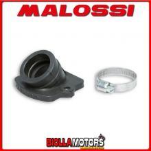 029441B COLLETTORE ASPIRAZIONE MALOSSI RACING D. 22 - 28 ITALJET JET SET 50 2T LUNGHEZZA 26,5 INCLINATO IN FKM -