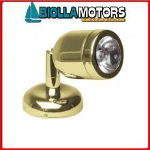 2144067 SPOT READY TAPER SS LED 1X3W 12/24< Spot Cap LED