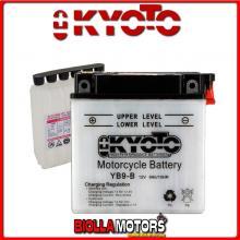 712091 BATTERIA KYOTO YB9-B CON ACIDO YB9B MOTO SCOOTER QUAD CROSS