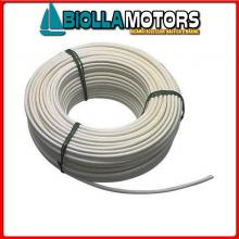 061650850 CAVO INOX+PVC 8MM-50MT Cavo in Acciaio Inox Plastificato per Battagliola