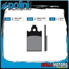 174.0012 PASTIGLIE FRENO POLINI ANTERIORE KTM GO 50 SCOOTER 50CC 1994- ORGANICA
