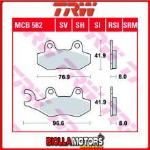 MCB582SI PASTIGLIE FRENO ANTERIORE TRW Quadzilla RS6 600 4WD 2010- [ORGANICA- ]