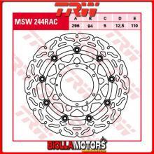 MSW244RAC DISCO FRENO ANTERIORE TRW Honda CBR 600 F 2001-2007 [FLOTTANTE - CON CONTOUR]