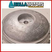 5111007 ANODO FLANGIA ROUND ALU D70 Flange in Alluminio per Timone e Scafo