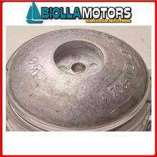 5111014 ANODO FLANGIA ROUND ALU D140 Flange in Alluminio per Timone e Scafo
