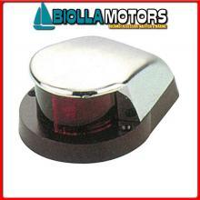2111514 FANALE BOW RED/GREEN LED CHROME Fanali di Prua LED (CE) Bow Chrome