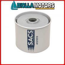 4121013 CARTUCCIA DIESEL ELEMENT 55S Cartuccia Sacs Filtro Gasolio per Motori AQ../BB..