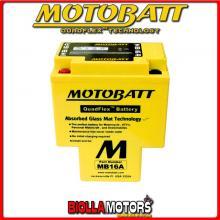 MB16A BATTERIA HYB16A-AB HONDA VT750C Shadow 750 1983-- MOTOBATT HYB16AAB