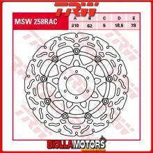MSW258RAC DISCO FRENO ANTERIORE TRW Honda CB 1100 SFX-Eleven 2000-2001 [FLOTTANTE - CON CONTOUR]