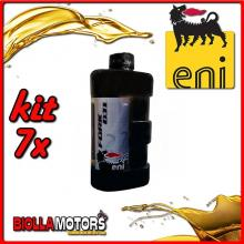 KIT 7X LITRO OLIO ENI FORK OIL 7.5W FORCELLA - 7x E142691