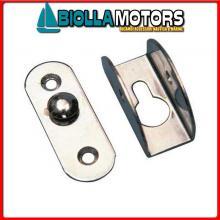 0643122 PIASTRINA ATTACCO SFILABILE D22 Attacco Ricambio Scalette Sfilabile