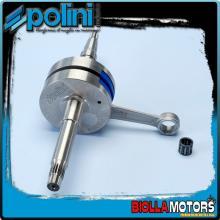 210.0019 ALBERO MOTORE POLINI EVO 2 BENELLI 491 50 GT, ST BIELLA 80 - SP.12 Per variatore con spinotto da d.16mm