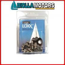3214294 CONFEZIONE VITI M5x10 LOXX/TENAX 10PZ 10 Viti con Dado Loxx - Tenax in Blister