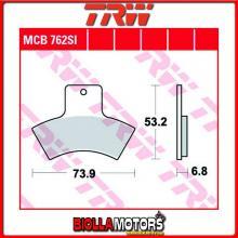 MCB762SI PASTIGLIE FRENO POSTERIORE TRW Quadzilla 500 4x4 2006- [ORGANICA- ]