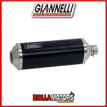 73806B6+71211IN TERMINALE GIANNELLI IPERSPORT HONDA MSX 125 2013-2015 DARK/INOX + COLLETTORE RACING