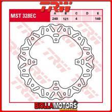 MST328EC DISCO FRENO POSTERIORE TRW Honda CR 125 R 2002-2003 [RIGIDO - CROSS]