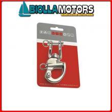 0222790C MOSCHETTONE MTM CARD Moschettone Spi con Grillo Girevole MTM