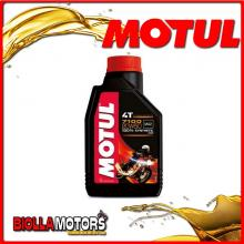 104103 1 LITRO OLIO MOTUL 7100 4T 20W50 100% SINTETICO PER MOTORI 4T