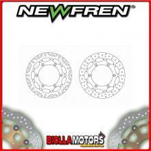 DF5263AFV DISCO FRENO ANTERIORE NEWFREN TRIUMPH BONNEVILLE 790cc (carb) T100 up to Eng No 211132 2002-2004 FLOTTANTE VINTAGE