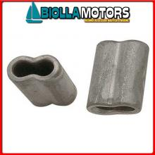 5424504 MANICOTTO D4 ALU Manicotti in Alluminio per Impiombare