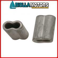 5424508 MANICOTTO D8 ALU Manicotti in Alluminio per Impiombare