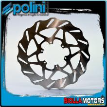 175.0054 DISCO FRENO POLINI ANTERIORE DERBI GPR 50 racing dal 2006-> (DERBI D50B) D.300
