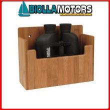 5806103 CONTENITORE NAVIGATION BAMBOO 220X175 Contenitore Porta-Binocolo