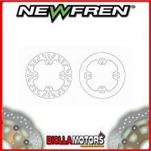 DF5080AP DISCO FRENO POSTERIORE NEWFREN KAWASAKI KX 125cc 2003-2005 FISSO PIENO