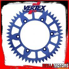 892-897ECBU52 CORONA VERTEX EC 52-520 KTM EXC 125, LC2 1996-1997 125CC - ALLUMINIO/BLU