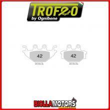 43004200 PASTILLAS DE FRENO DELANTERO OE KYMCO ATV MXU 250 2005- 250CC [ORGANIC]