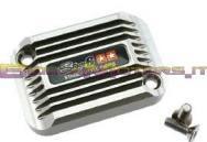 S6-SSP082-2BZ/TI COPERCHIO POMPA FRENO SSP CNC TYPE COOLING STYLE TITAN LOOK X APRILIA SR