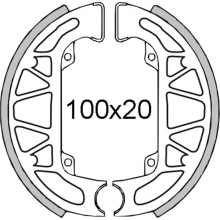 225120301 GANASCE FRENO RMS PIAGGIO QUARTZ 50 1992/1996 NSP1T