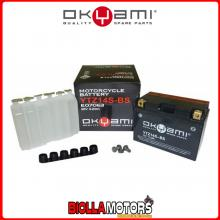 E07063 BATTERIA OKYAMI YTZ14S-BS SIGILLATA CON ACIDO YTZ14SBS MOTO SCOOTER QUAD CROSS