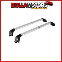 N15013 NORDRIVE SNAP-FIT ALU, COPPIA BARRE PORTATUTTO TELESCOPICHE IN ALLUMINIO - MIS. 2 - 100?136 CM AUDI A6 ALLROAD - RAILING