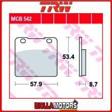 MCB542 PASTIGLIE FRENO ANTERIORE TRW Suzuki GSXR 250 1988- [ORGANICA- ]