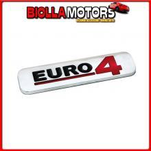 07244 LAMPA EMBLEMA ANTINQUINAMENTO 3D CROMATO - 100X25 MM - EURO 4