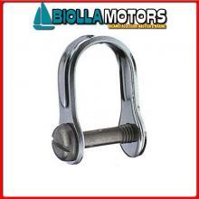 0121666 GRILLO STAMP D6 INOX Grillo Dritto HS con Vite