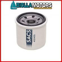 4121455 CARTUCCIA OIL Y-119305-35170C< Filtro Olio Sacs per Motori 1GM../2GM../3GM../3JH../3YN..