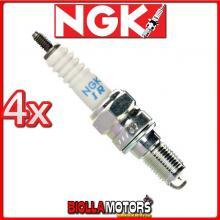 4 CANDELE NGK IMR9A-9H HONDA CBR- F engine No.--> 2242873 & FS engine No.--> 2242873 600CC 2001-2004 IMR9A9H