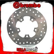 68B407N5 DISCO FRENO POSTERIORE BREMBO KYMCO G-DINK 2012- 125CC FISSO